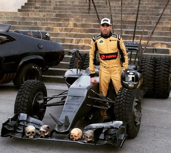 Crashtor's New IndyCar Ride?
