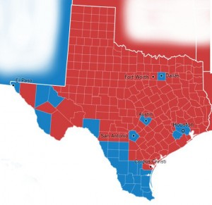 Brexit vs Trump vs Clinton: Texas results from the 11/2016 election