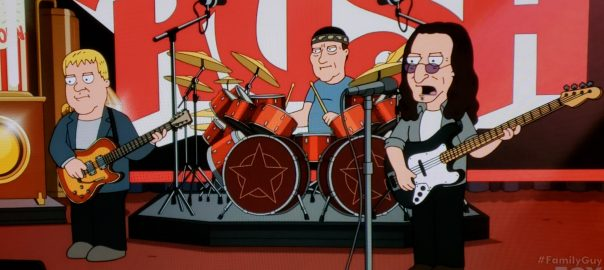 Rush on Family Guy
