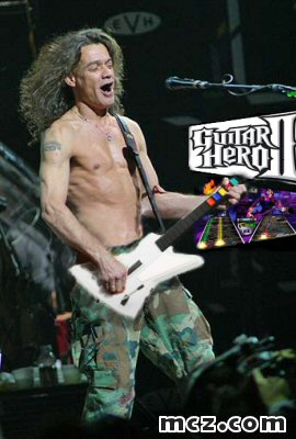 Oh, How the mighty have fallen! Van Halen Guitar Hero II
